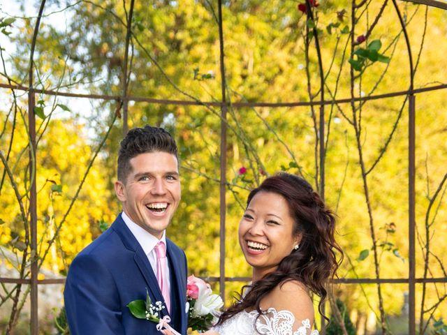 Le mariage de Amaury et Phuong à Trouhans, Côte d'Or 1
