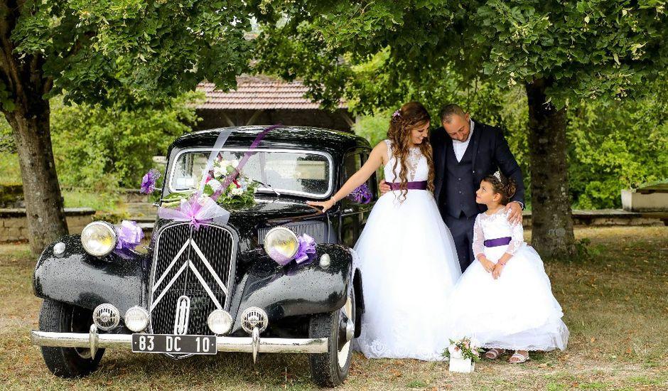 Le mariage de  Nicolas  et Céline   à Clairvaux sur Aube, Aube