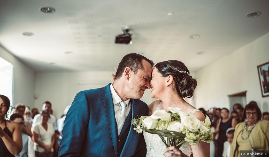 Le mariage de Cédric et Céline à Villetoureix, Dordogne