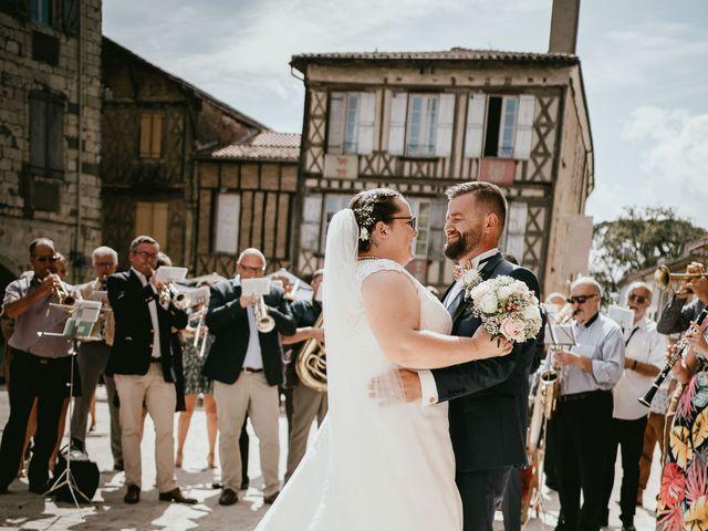 Le mariage de Benjamin et Marianne à Eauze, Gers 33