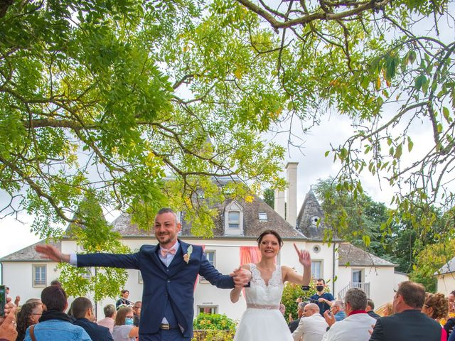 Le mariage de Steve et Estelle à Orgères, Ille et Vilaine 31