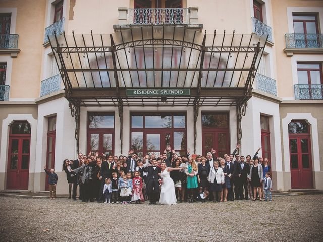 Le mariage de Brice et Samantha à Allevard, Isère 46
