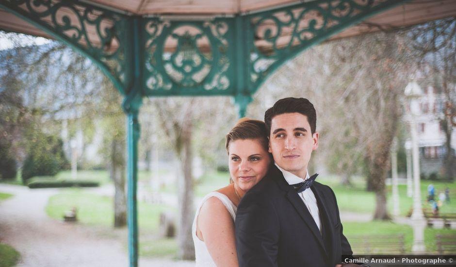 Le mariage de Brice et Samantha à Allevard, Isère