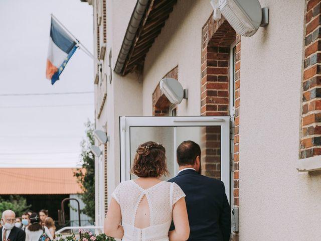 Le mariage de Pierre et Elise à Vallery, Yonne 8