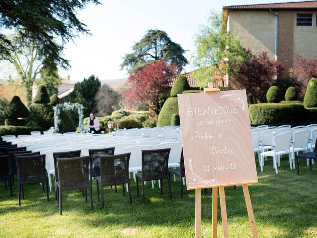 Le mariage de Quentin et Pauline à Le Perréon, Rhône 13