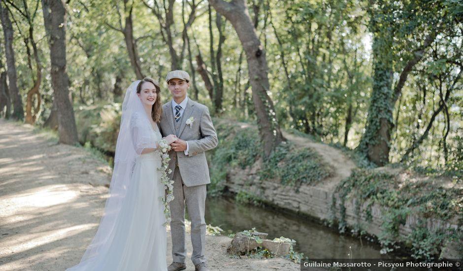 Le mariage de Joris et Axelle à Ortaffa, Pyrénées-Orientales