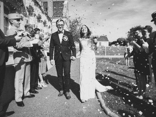 Le mariage de Baptiste et Nassima à Bayeux, Calvados 7