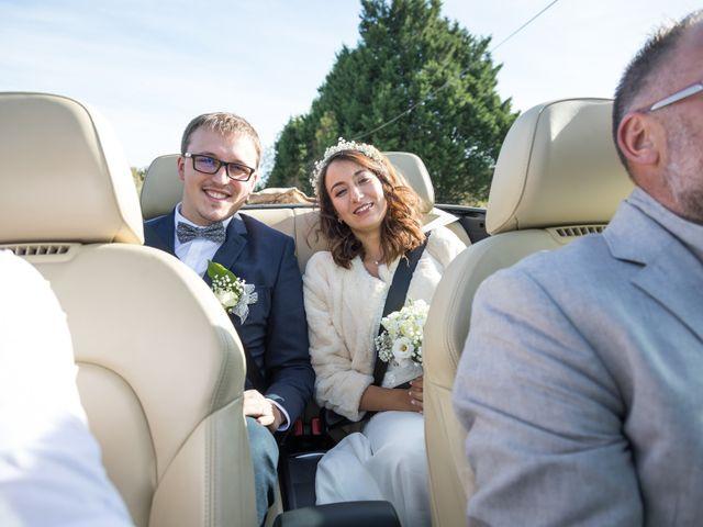 Le mariage de Baptiste et Nassima à Bayeux, Calvados 8