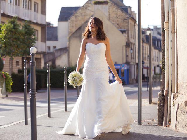 Le mariage de Baptiste et Nassima à Bayeux, Calvados 14