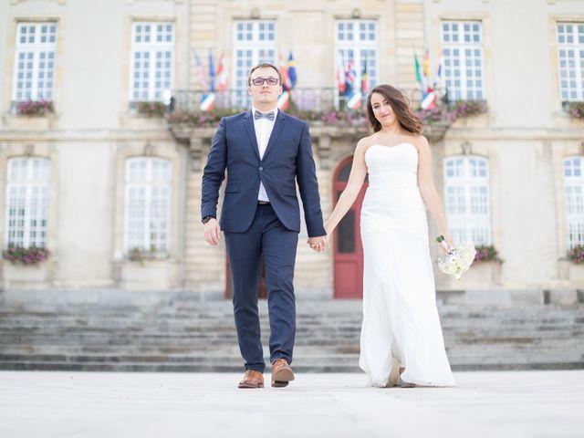 Le mariage de Nassima et Baptiste