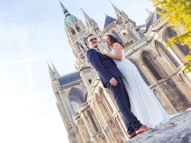 Le mariage de Baptiste et Nassima à Bayeux, Calvados 18