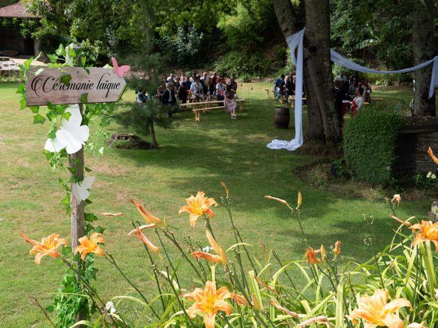 Le mariage de Sylvain et Melicerte à La Chaussaire, Maine et Loire 1