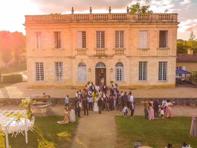 Le mariage de Christ et Lydie à Béguey, Gironde 8
