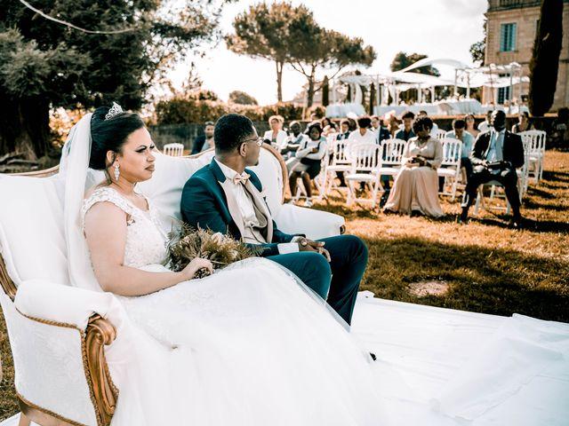 Le mariage de Christ et Lydie à Béguey, Gironde 9