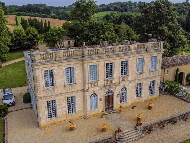 Le mariage de Christ et Lydie à Béguey, Gironde 14