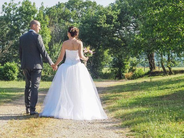 Le mariage de Laurent et Stéphanie à Tabre, Ariège 11
