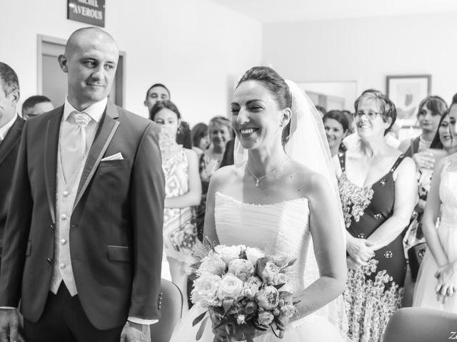 Le mariage de Laurent et Stéphanie à Tabre, Ariège 22