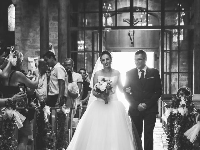 Le mariage de Laurent et Stéphanie à Tabre, Ariège 26