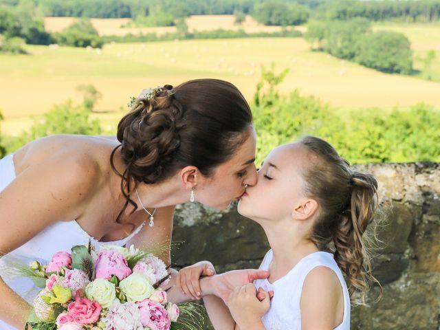Le mariage de Laurent et Stéphanie à Tabre, Ariège 33