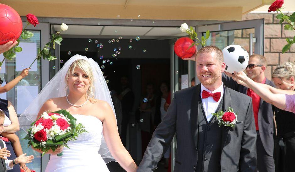 Le mariage de Teddy et Fanny à Taintrux, Vosges