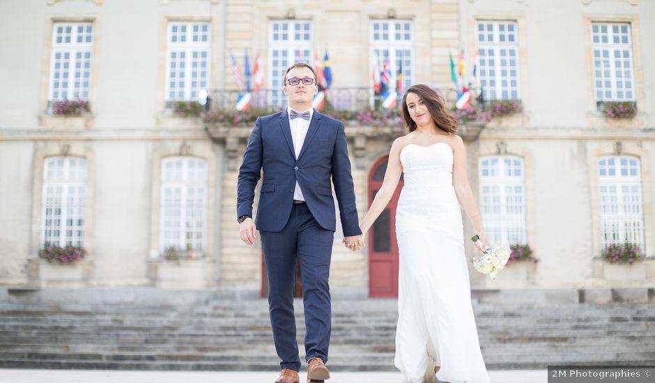 Le mariage de Baptiste et Nassima à Bayeux, Calvados