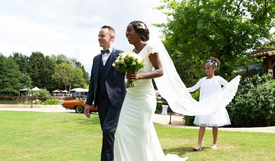 Le mariage de Sylvain et Melicerte à La Chaussaire, Maine et Loire