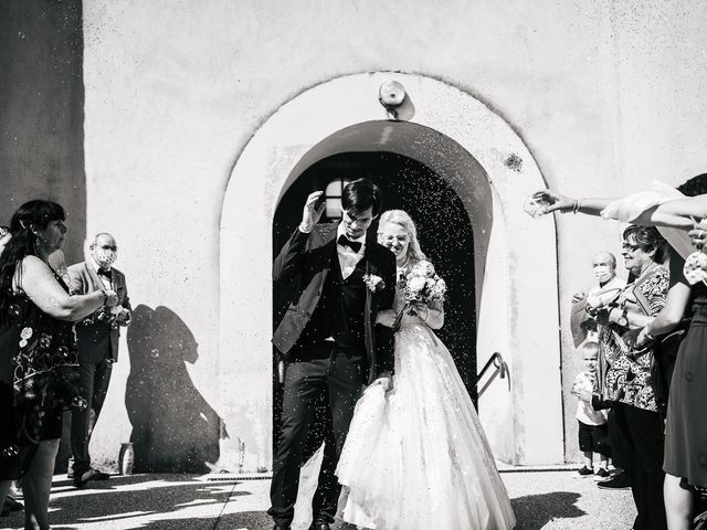 Le mariage de Alexandre et Annabelle à Mimbaste, Landes 3