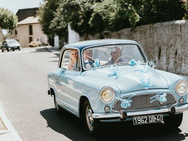 Le mariage de Alexandre et Annabelle à Mimbaste, Landes 7