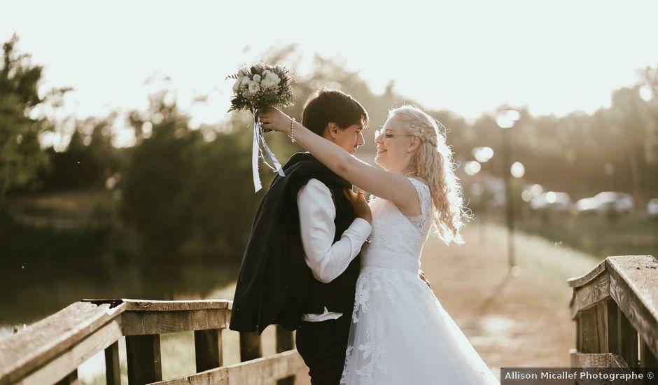 Le mariage de Alexandre et Annabelle à Mimbaste, Landes