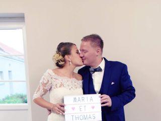 Le mariage de Thomas et maria et Cartigny
