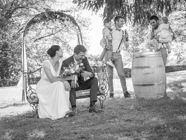 Le mariage de Cédric et Camille à Argentat, Corrèze 1