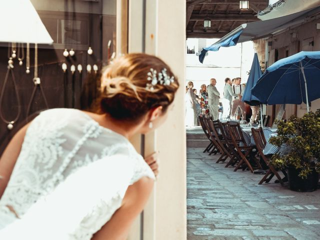 Le mariage de Nick et Melissa à Bonifacio, Corse 5