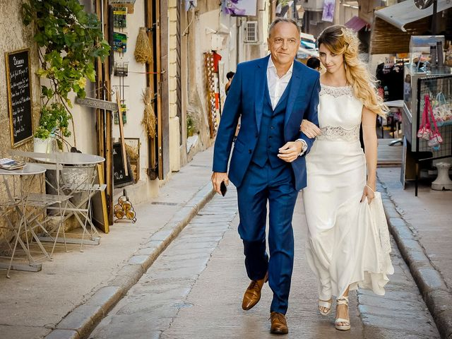 Le mariage de Nick et Melissa à Bonifacio, Corse 6