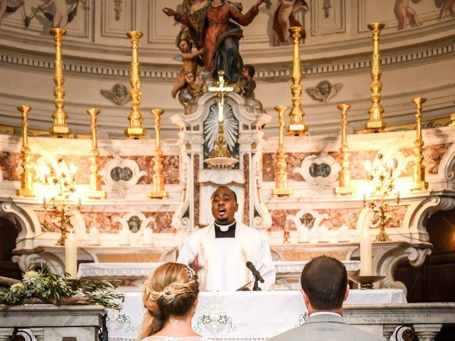 Le mariage de Nick et Melissa à Bonifacio, Corse 8