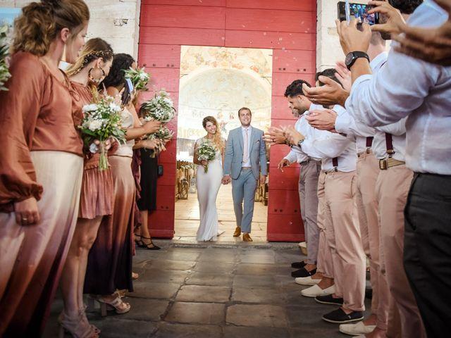 Le mariage de Nick et Melissa à Bonifacio, Corse 10