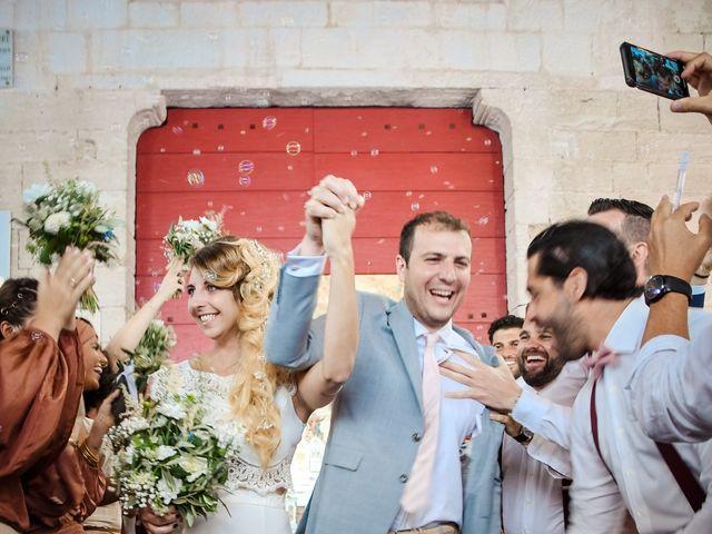 Le mariage de Nick et Melissa à Bonifacio, Corse 12