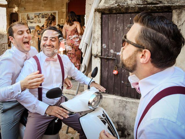 Le mariage de Nick et Melissa à Bonifacio, Corse 14
