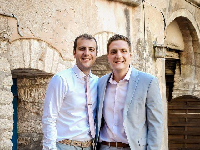 Le mariage de Nick et Melissa à Bonifacio, Corse 16