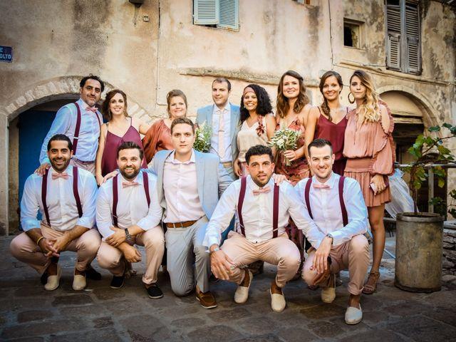 Le mariage de Nick et Melissa à Bonifacio, Corse 18