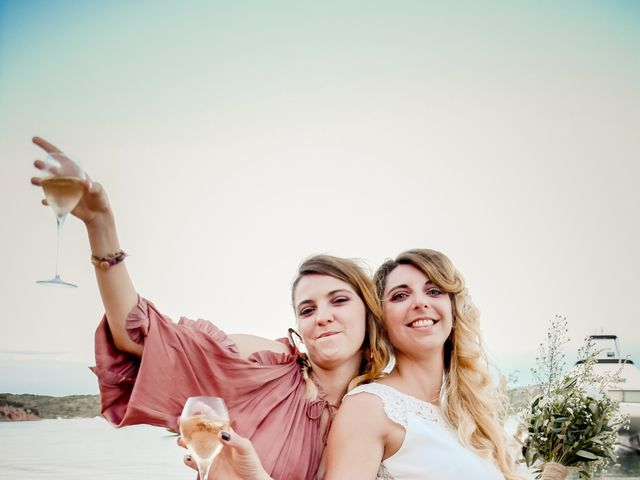 Le mariage de Nick et Melissa à Bonifacio, Corse 19