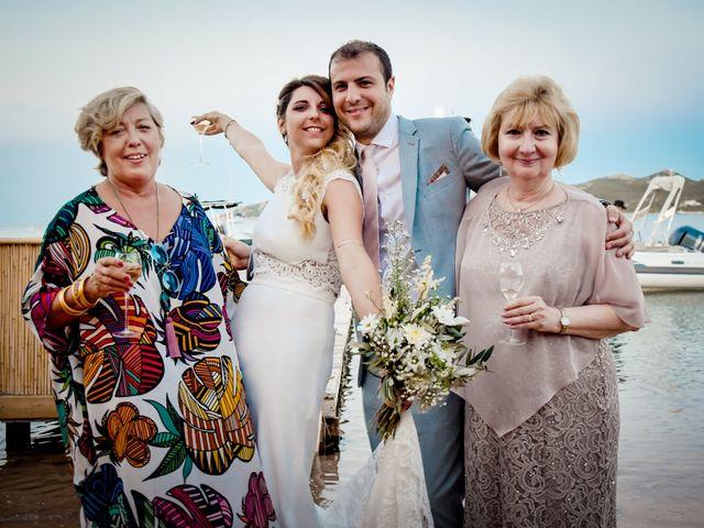 Le mariage de Nick et Melissa à Bonifacio, Corse 20