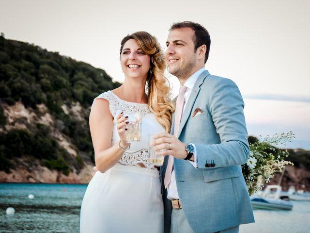 Le mariage de Nick et Melissa à Bonifacio, Corse 23