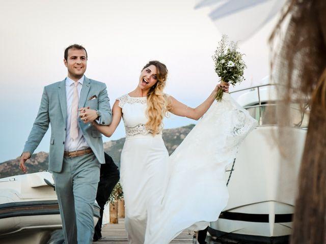 Le mariage de Nick et Melissa à Bonifacio, Corse 24