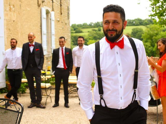 Le mariage de Mehdi et Marie Laure à Saint-Lager, Rhône 8