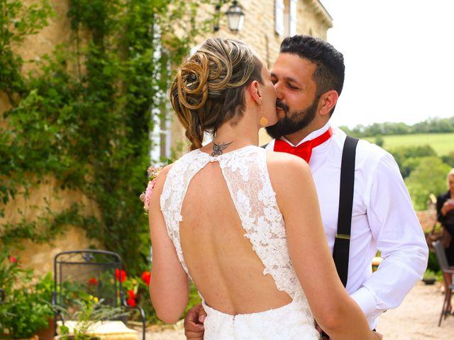 Le mariage de Mehdi et Marie Laure à Saint-Lager, Rhône 9