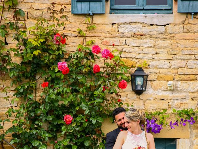 Le mariage de Mehdi et Marie Laure à Saint-Lager, Rhône 11
