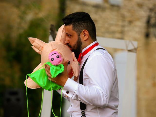 Le mariage de Mehdi et Marie Laure à Saint-Lager, Rhône 36