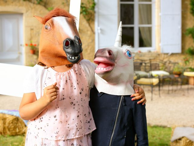 Le mariage de Mehdi et Marie Laure à Saint-Lager, Rhône 38