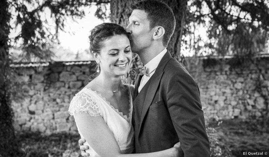 Le mariage de Cédric et Camille à Argentat, Corrèze
