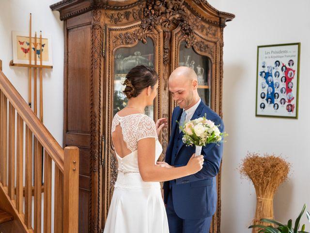 Le mariage de Benjamin et Odile à Caugé, Eure 21